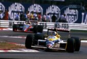 Jean-Louis Schlesser, Williams FW12 replaced Nigel Mansell, who was recovering from Chicken Pox. 1989 Italian Grand Prix, Monza