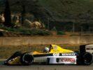 Riccardo Patrese (ITA) tests the Williams FW12C. Formula One Testing, Jerez, Spain, 1989.