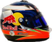 Daniel Ricciardo helmet 2012