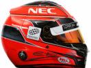 2017 Esteban Ocon helmet