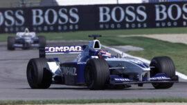 Jos Verstappen crashes into Montoya 2001