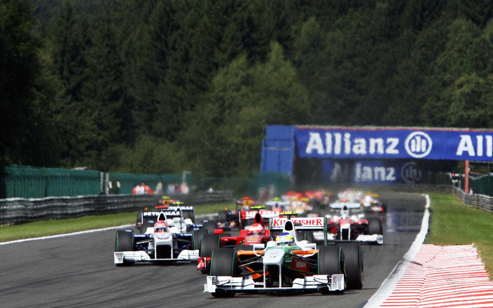 Results 2009 Formula 1 Grand Prix of Belgium