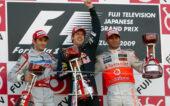 2009 Japanese victory for Vettel