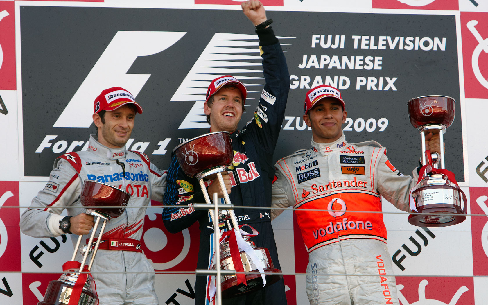 Results 2009 Formula 1 Grand Prix of Japan
