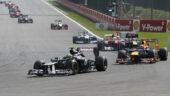 Bruno Senna, Williams FW34 Renault, 2012 Belgium F1 GP