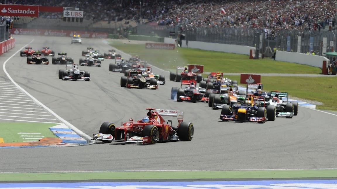 HD Wallpaper 2012 Germany F1 GP