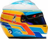 Ferando Alonso helmet 2017