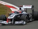 Rubens Barrichello, Williams FW33 Cosworth. 2011 German F1 GP