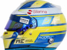 2017 Marcus Ericsson helmet
