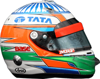 Narain Karthikayan Helmet Design