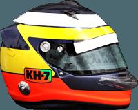 Pedro de la Rosa Helmet Design