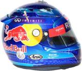Sebastian Vettel helmet 2013