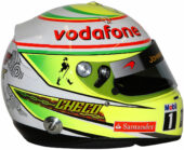 2013 Sergio Perez helmet