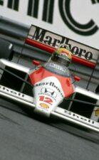 McLaren MP4-4 Honda driven by Ayrton Senna, USA Grand Prix, Detroit (1988)