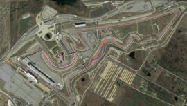 USA Grand Prix circuit
