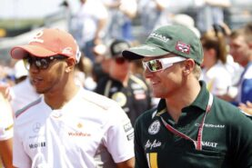 Heikki Kovalainen & Lewis Hamilton