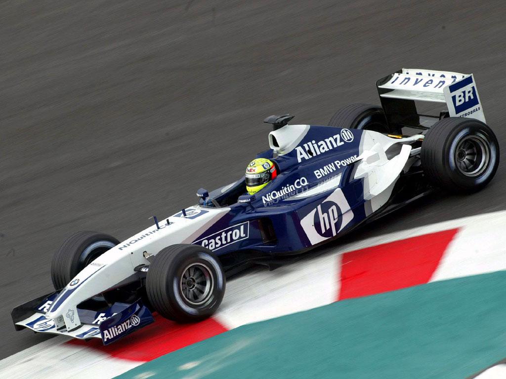 Williams BMW FW25 - Ralf Schumacher - 2003 Grandprix of France