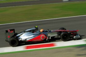 Lewis Hamilton driving the McLaren MP4-27, 2012 Brazilian GP
