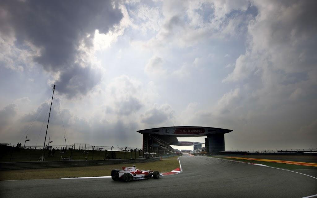Results 2008 Formula 1 Grand Prix of China