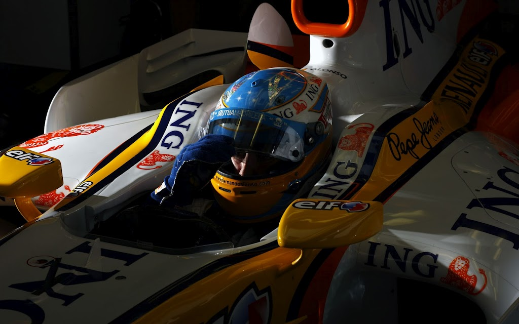 Fernando Alonso 2008 F1 GP Germany