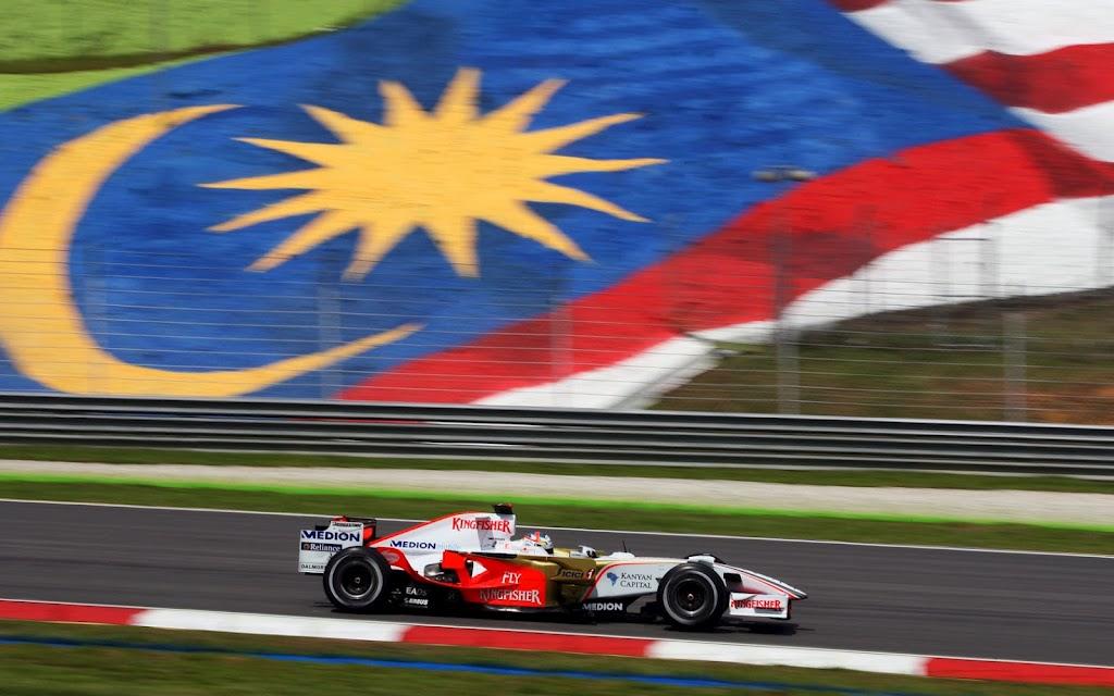 Results 2008 Formula 1 Grand Prix of Malaysia