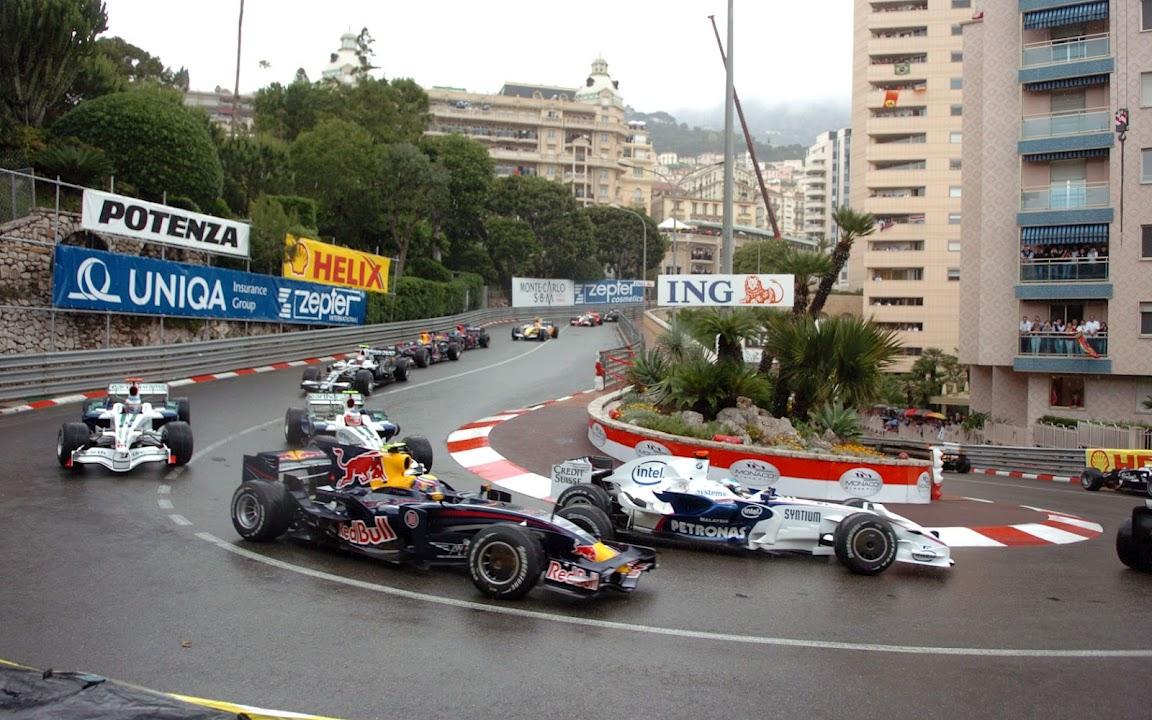 2008 HD wallpaper F1 GP Monaco