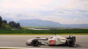 Jaccques Villeneuve 2001 F1 GP of Austria