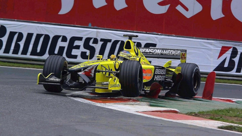 Jordan Belgium F1 GP