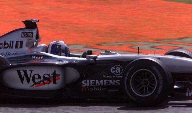David Coulthard at Japan 2001