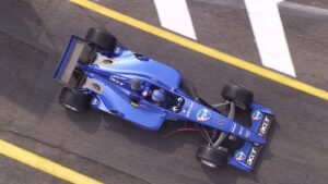 Jean Alesi driving the Prost
