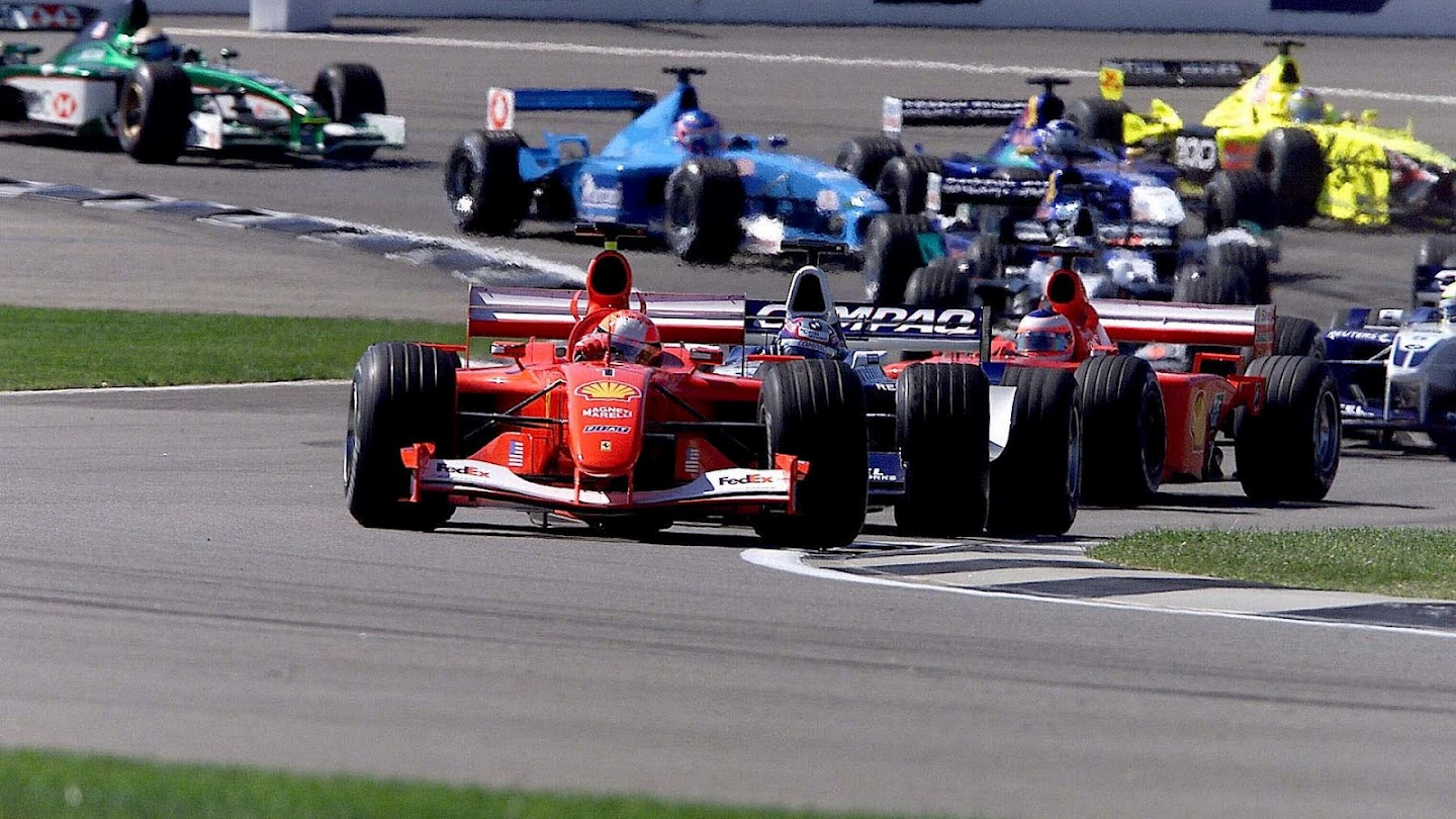 Results 2001 Formula 1 Grand Prix of the United States