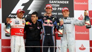 Results 2010 Formula 1 Grand Prix of Great Britain