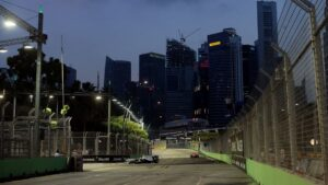 Results 1st Practice 2012 F1 GP of Singapore