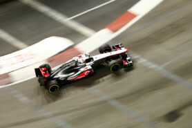 Lewis Hamilton racing the McLaren MP4-27 (2012)