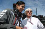 Monisha Kaltenborn and Bernie Ecclestone