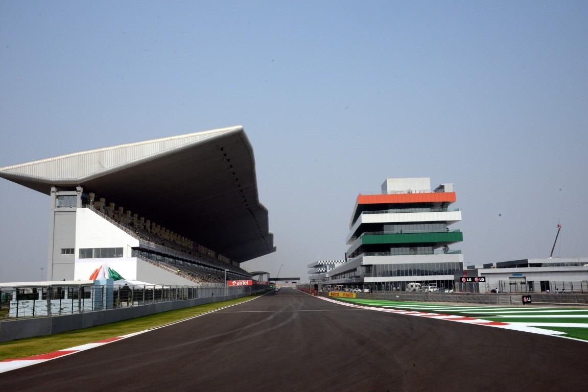 Main Straight Buddh circuit India