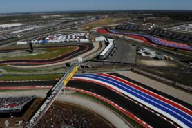 View Circuit of The Americas from the tower