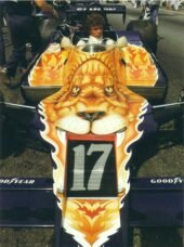 Jan Lammers at the wheel of the Shadow F1 car just before the start of the USA GP