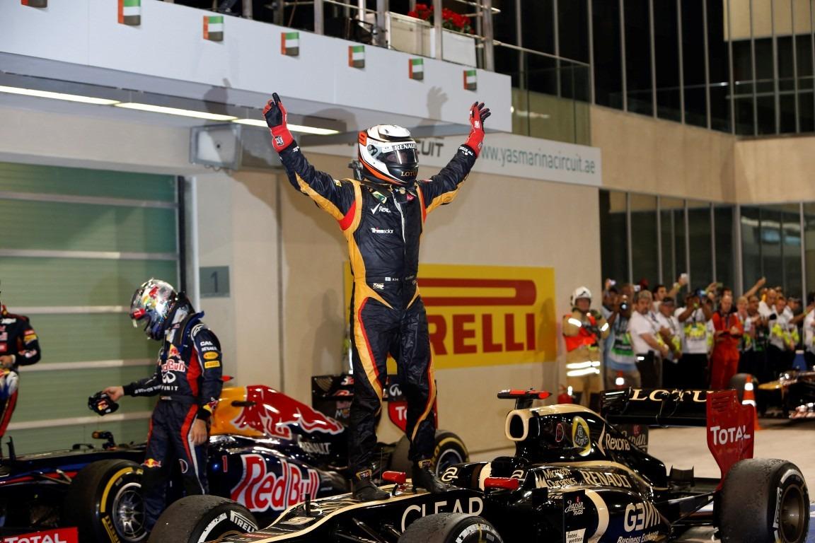 Race results 2012 Formula 1 Grand Prix of Abu Dhabi