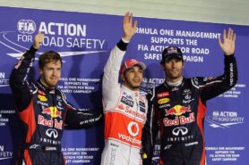 Qualifying results 2012 Formula 1 Grand Prix of Abu Dhabi