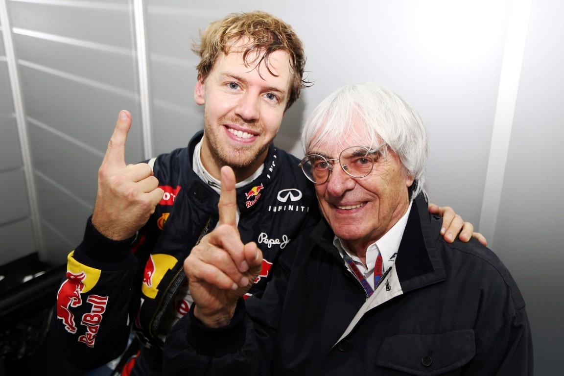 Ecclestone says he told Aston Martin to sign Vettel