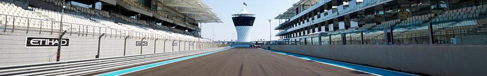 Yas Marina layout
