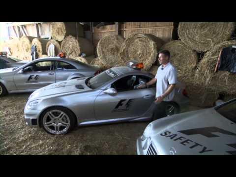 F1 Safety Car Mercedes history by Bernd Maylander