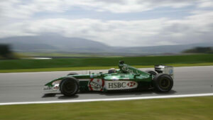 Eddie Irvine Austria 2002