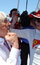 Bernie Ecclestone & Felipe Massa