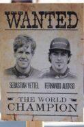 F1 wanted poster 2012 season
