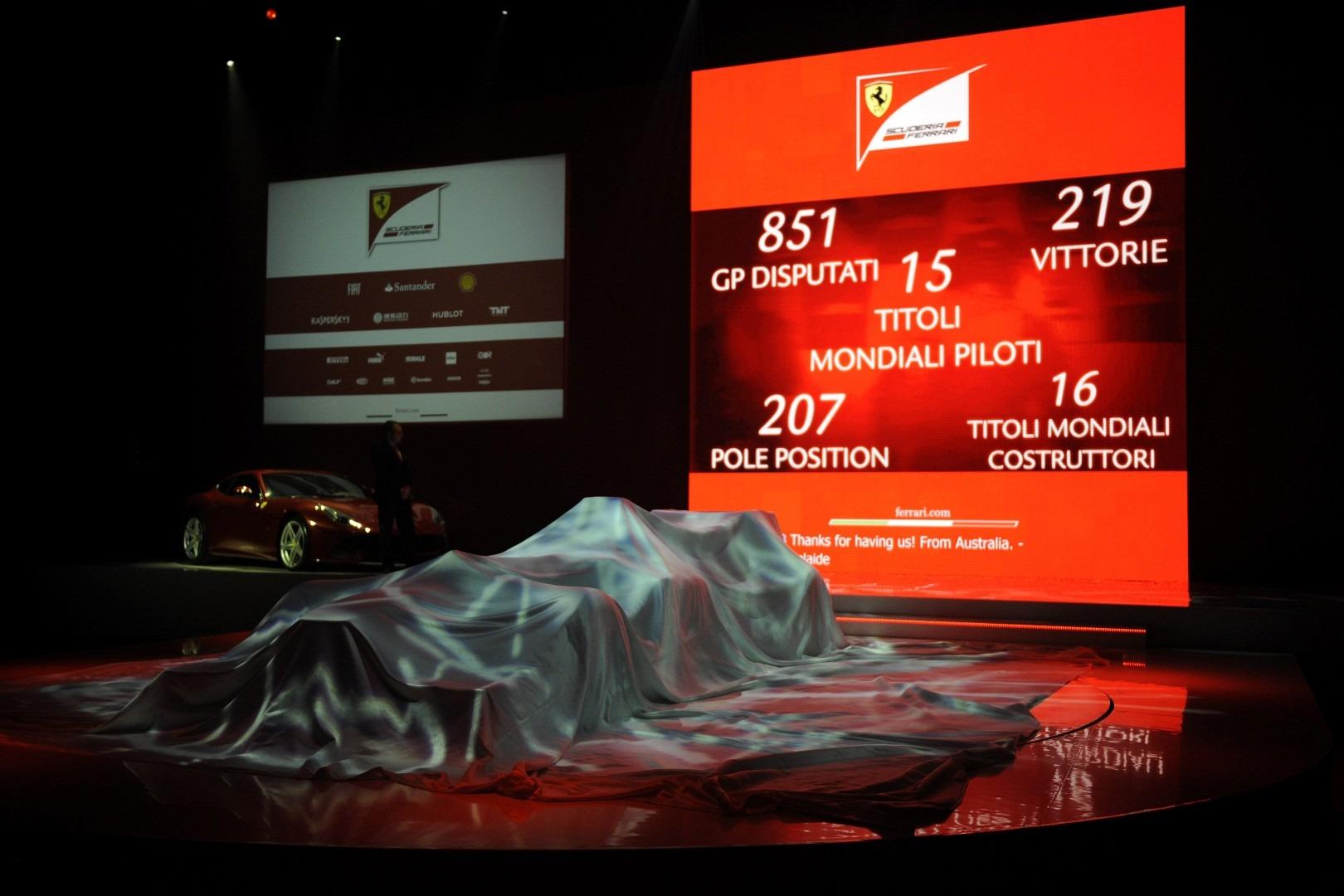 F1 Launch Ferrari F138