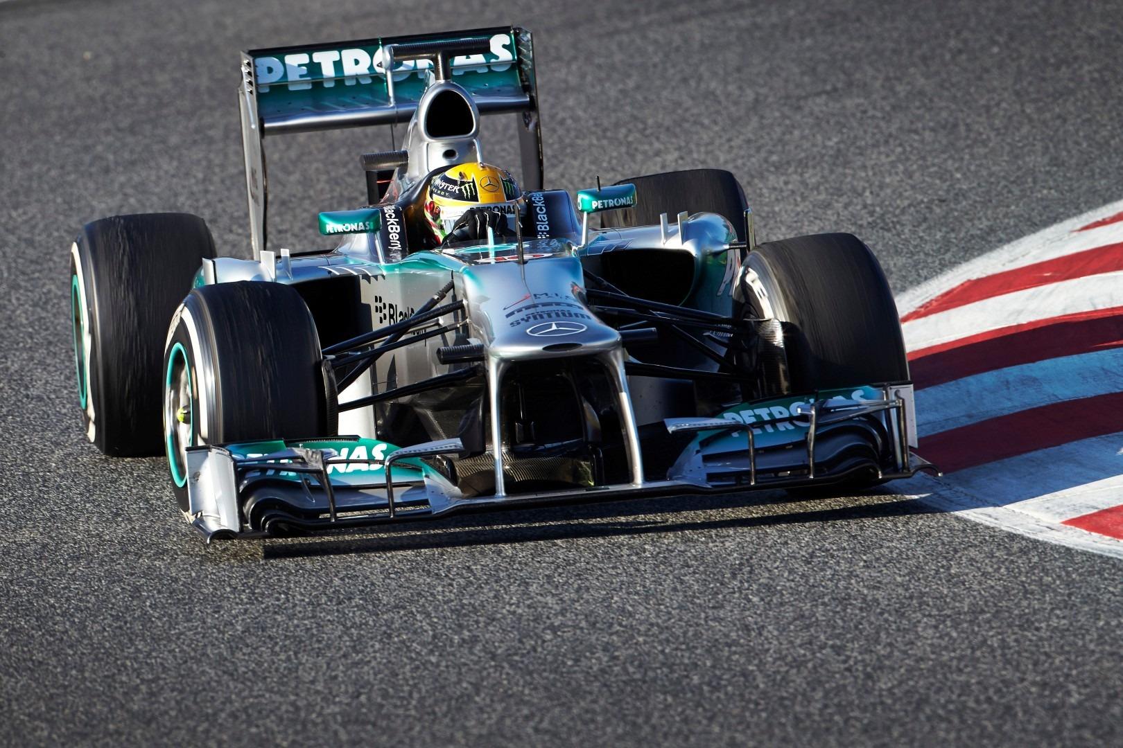 Lewis Hamilton Mercedes W04
