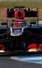Kimi Raikkonen Lotus E21 F1 wintertest Jerez 2013