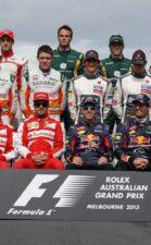 2013 F1 drivers